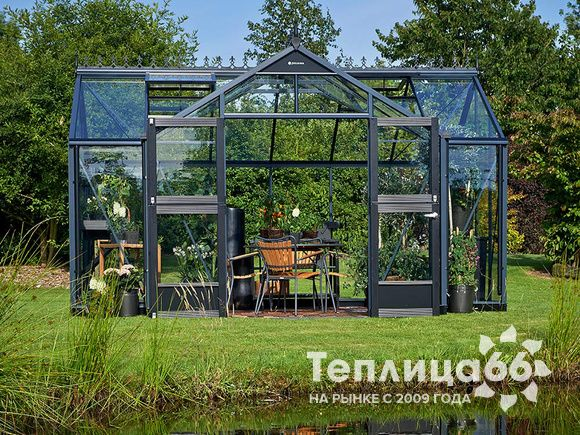 Теплица Juliana Orangery Anthracite 15,2 м²